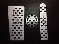 Накладки на педали Brabus Smart 450