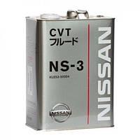 Масло в АКПП NISSAN CVT Fluid NS-3 5 л.