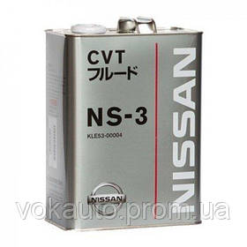 Масло в АКПП NISSAN CVT Fluid NS-3. 5 л.