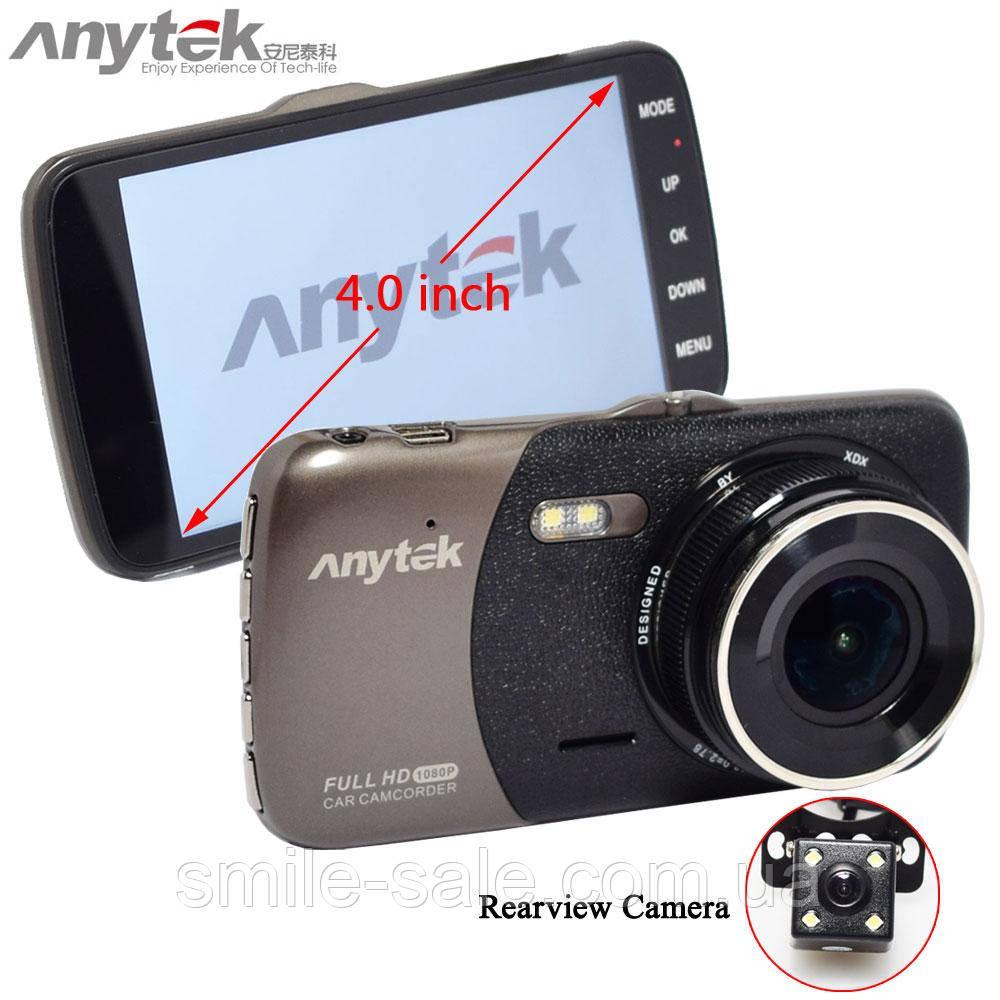Видеорегистратор ANYTEK B50H на 2 Камеры! Оригинал!