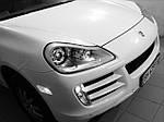 НАШИ РАБОТЫ: Porsche Cayenne замена штатных билинз на Hella 5 NEW зеркальные