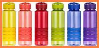 Бутылка для воды спортивная прозрачная 750 мл