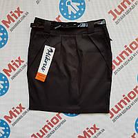 Школьная детская юбка для девочки чёрного цвета  Mikrys
