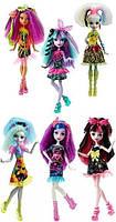 Куклы Монстер хай Под напряжением Monster High Electrified Monstrous Hair Ghouls