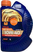 Масло напівсинтетичне моторне PREST OIL 10w40 PRIME SG/CF 1л