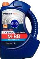 Масло моторне мінеральне всесезонне PREST OIL М8В AGRO CC 5л