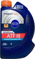 Масло мінеральне трансмісійне PREST OIL ATF Dextron III 1л