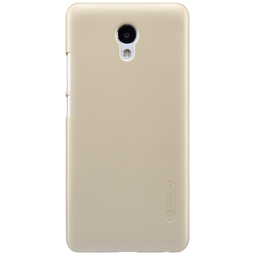 Чехол-бампер Nillkin Super Frosted Shield Gold для Meizu M5 Note