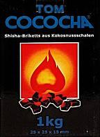 """Уголь для кальяна кокосовый """"Том Cococha"""" Blue 1 кг"""