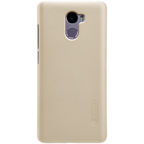 Чехол-бампер Nillkin Super Frosted Shield Gold для Xiaomi Redmi 4