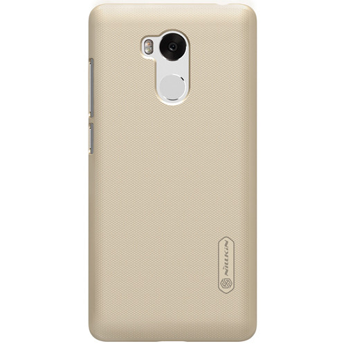 Чехол-бампер Nillkin Super Frosted Shield Gold для Xiaomi Redmi 4 PRO/PRIME