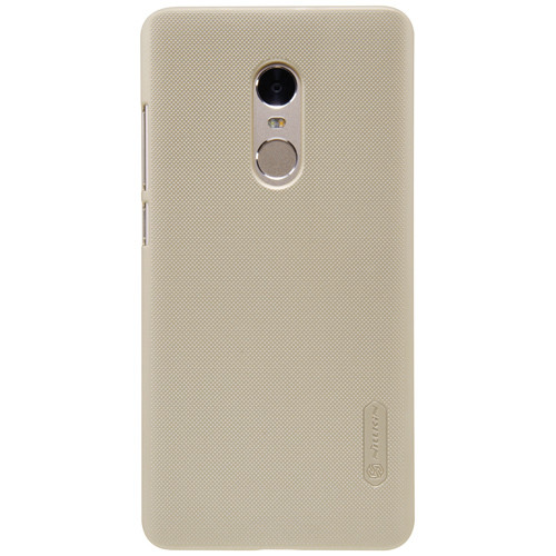 Чехол-бампер Nillkin Super Frosted Shield Gold для Redmi Note 4