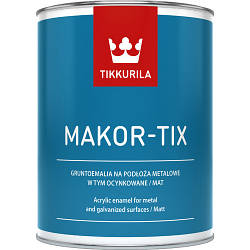 TIKKURILA MAKOR-TIX 10Л красно-коричневый