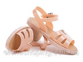 Стильні жіночі силіконові сандалі Р38-40 (КОД 2058-00)