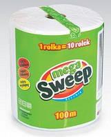 Бумажные полотенца Mega Sweep 100м.