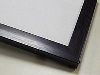 Рамка 10х15.16 мм.Чорный матовый.