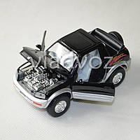 Машинка Toyota rav4 метал 1:36 черная