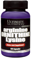 Ultimate Arginine Ornithine Lysine 100 caps