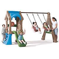 Детский игровой комплекс Step2 - CША - есть второй этаж
