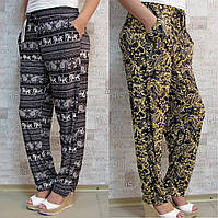"""Брючки женские летние """"АССОРТИ"""", 44 -54 размер. """"Kenalin"""". Тонкие женские брюки для лета"""