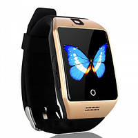 Годинник-телефон Smart-Watch Q18 Gold