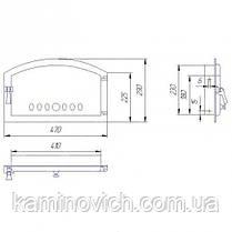 Дверца для каминных печей SVT 422, фото 2