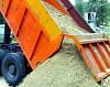 Песок речной не просеянный навалом (т)