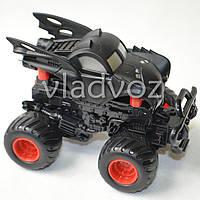 Машинка инерционная Джип монстр черный 11 см.