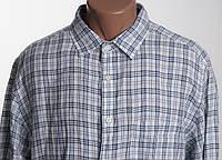 Uniqlo ЛЕН  рубашка д/р размер XL воротник   ПОГ 65 см  б/у ОТЛИЧНОЕ СОСТОЯНИЕ