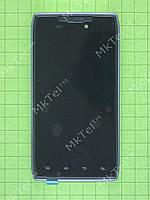 Дисплей Motorola RAZR XT910 с сенсором, панелью Оригинал Китай Черный