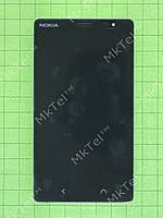 Дисплей Nokia X2 Dual SIM с сенсором, панелью Оригинал элем. Черный
