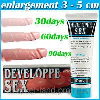 Настоящий Developpe Sex (Франция) крем для увеличения члена