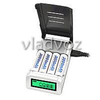 Интеллектуальное зарядное устройство для аккумуляторов 4 AA AAA