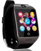Годинник-телефон Smart-Watch Q18 Black