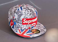 Бейсболка с рисунком Supreme