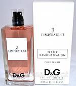 Демонстрационный тестер Dolce & Gabbana 3 L`Imperatrice Tester