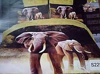 """Постельный комплект""""Слоны"""""""
