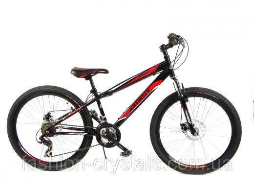 Спортивный велосипед Azimut Extreme 26 дюймов. Black-red