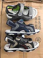 Детские сандалии на липучках для мальчиков оптом Размеры 31,32,33,35