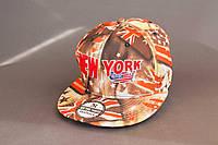 Бейсболка яркая New York