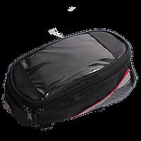 Велосипедная сумка с карманом для телефона, 20х10х8 см