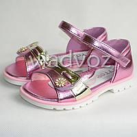 Босоножки сандалии для девочек, девочки 26р. Y.Top