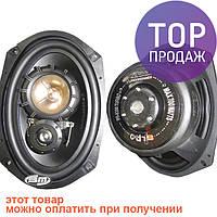 PR-6390Turbo – коаксиальная 3-х полосная тыловая автомобильная акустика / авто товары