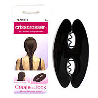 Держатель для быстрого плетения косы Criss Crosser