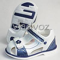 Босоножки сандалии для девочки, девочек белые 26р. Том.м