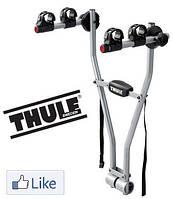 Велобагажник Thule Xpress 970. Багажник для перевозки 2-х велосипедов на фаркоп. Велокрепление.
