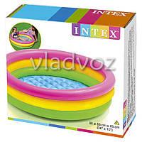 Детский надувной бассейн надувное дно Intex 58924
