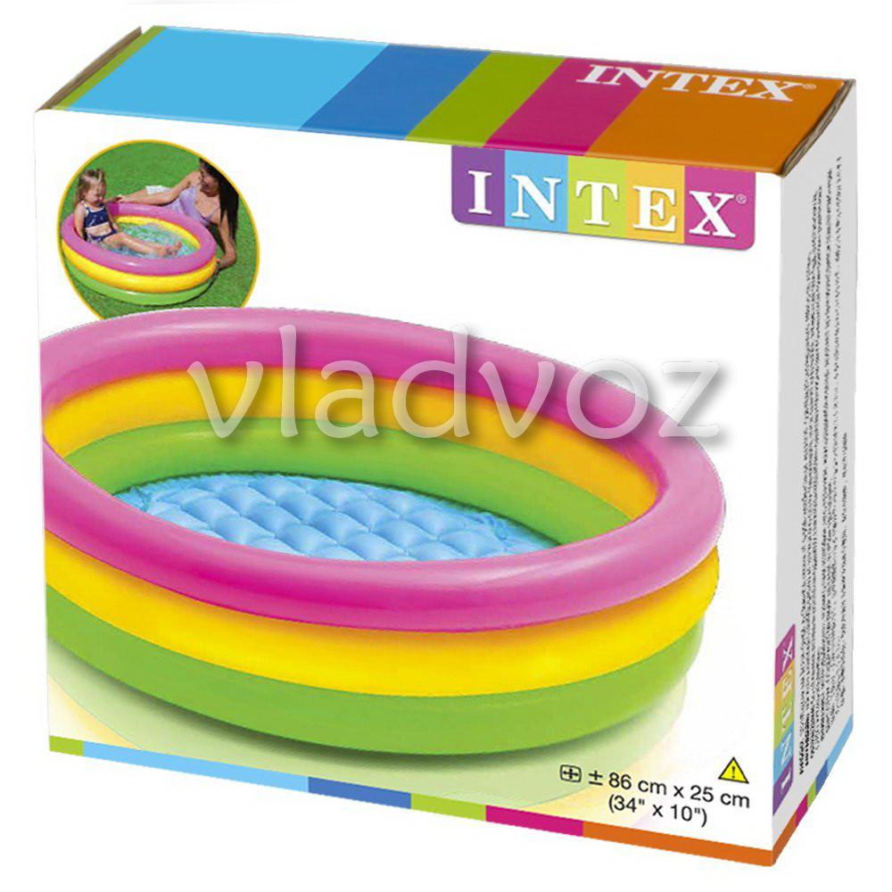 Детский надувной бассейн надувное дно Intex 58924 - интернет-магазин vladvozsklad мтс 0666993749, киевстар 0681044912, лайф 0932504050 в Николаевской области