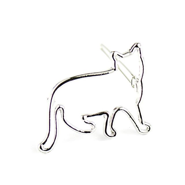 Заколка для волос кошка