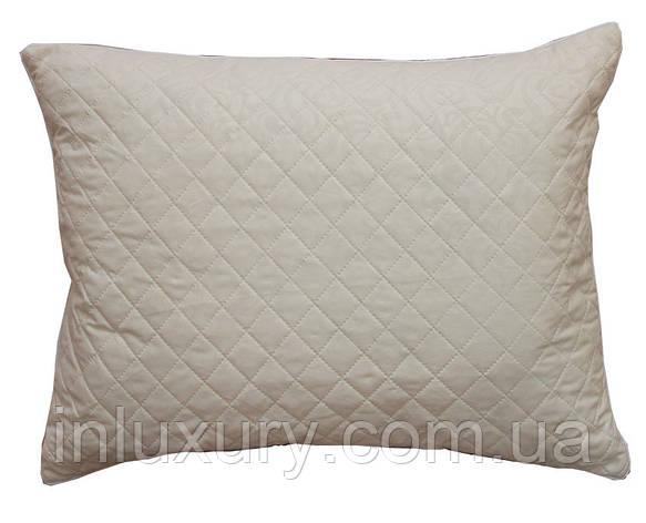 Подушка стеганная из микрофибры ТМ «TAG» , размер 50х70 см, фото 2